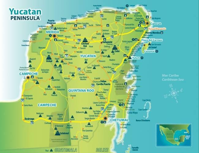 Península Yucatán (México)