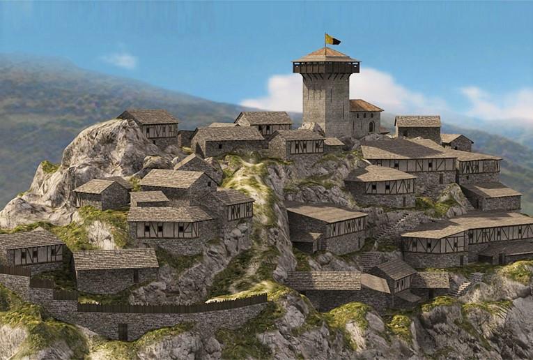 Recreación de Montsegur (Francia). Pagina oficial
