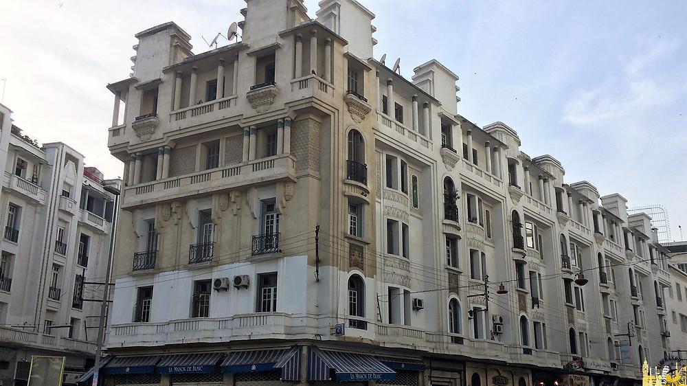 Casablanca (Marruecos). Edificios Art Decó