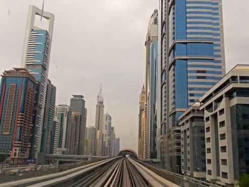 Dubai (Emiratos Árabes). Visita metropolitana