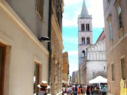 Zadar (Unesco), la ciudad donde el mar canta. Croacia