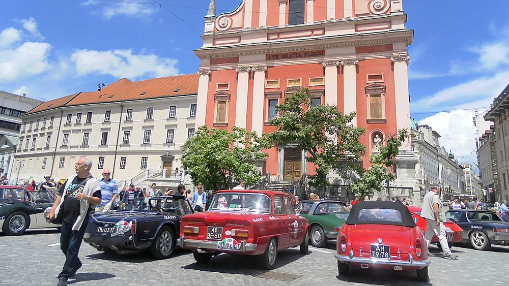 Liubliana (Eslovenia). Plaza Preseren