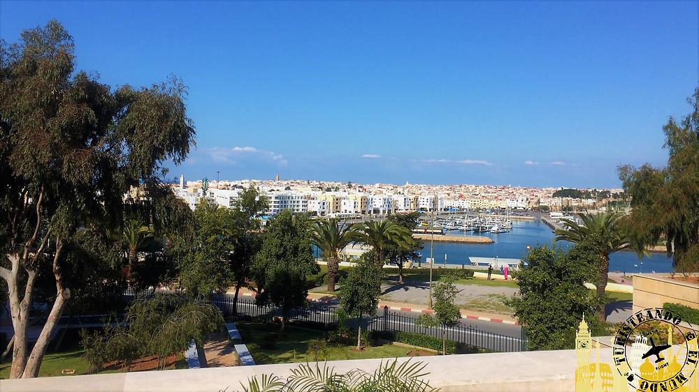 Vistas río Bou Regreg. Rabat (Marruecos)