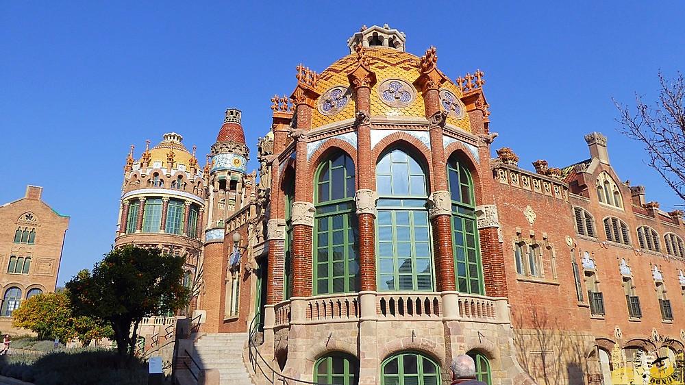 Hospital Modernista San Pau (Barcelona)