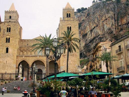 Cefalú, la ciudadela normanda (UNESCO). Sicilia (Italia)