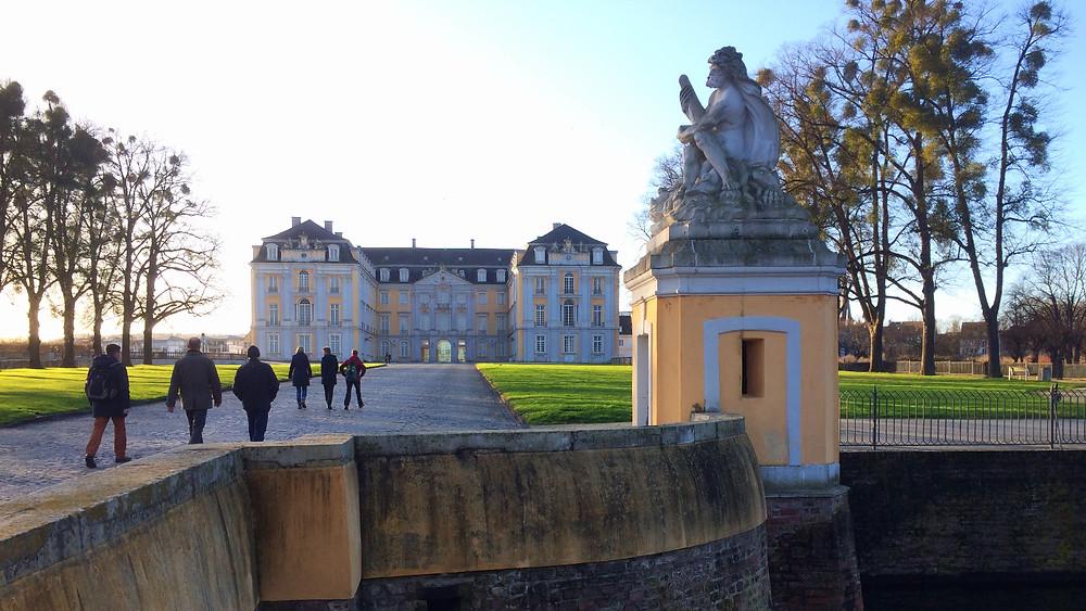 Entrada Palacio Augustusburg