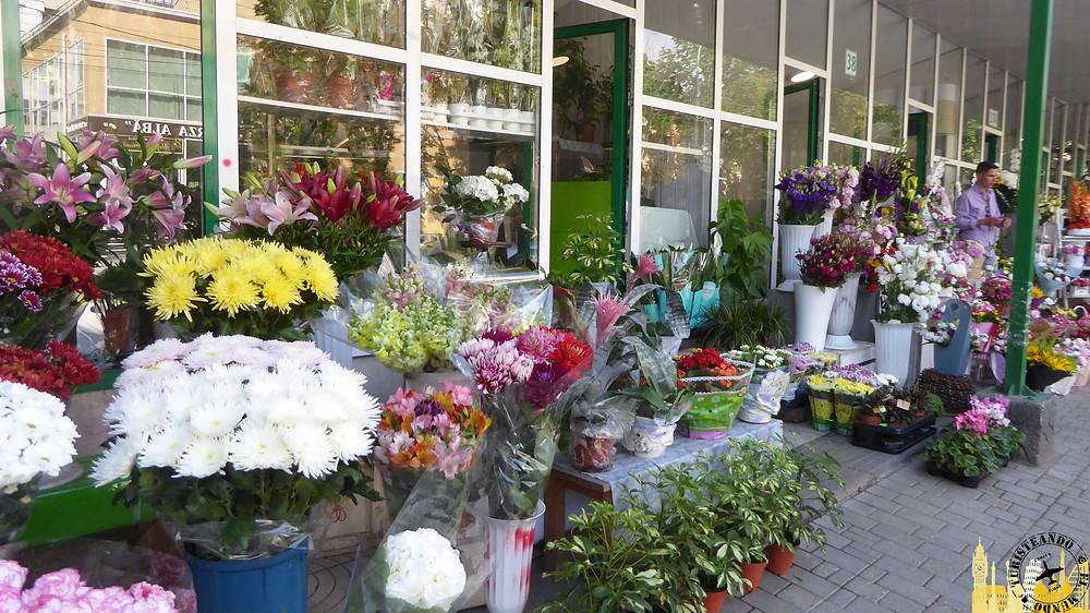Puesto flores. Chisinau (Moldavia)