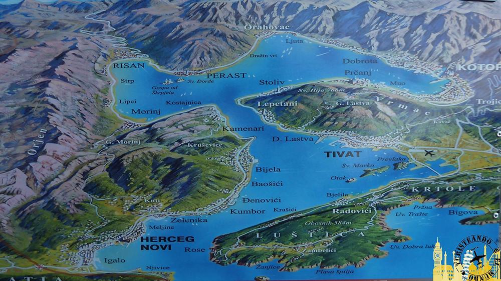 Bahía de Kotor (Montenegro)