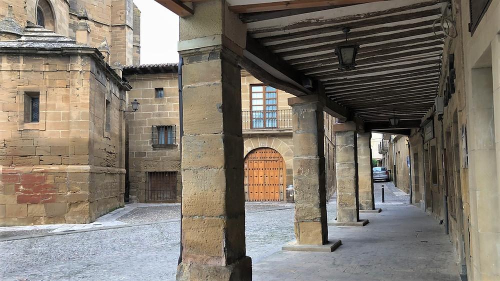 Plaza de España. Briones (La Rioja)