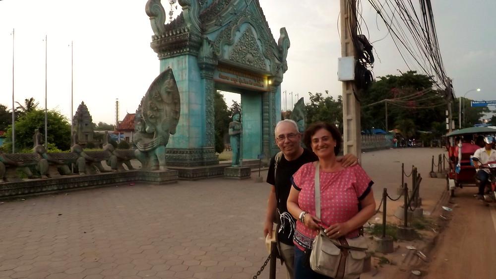 Santuario budista, Siem Reap (Camboya)