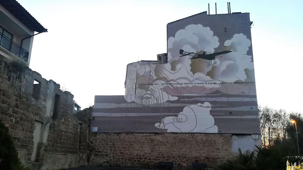 Graffiti en Logroño, La Rioja