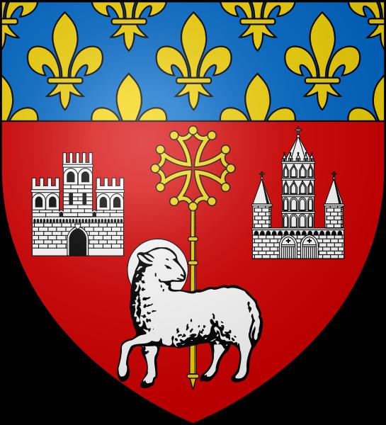 Escudo de Toulouse (Francia)