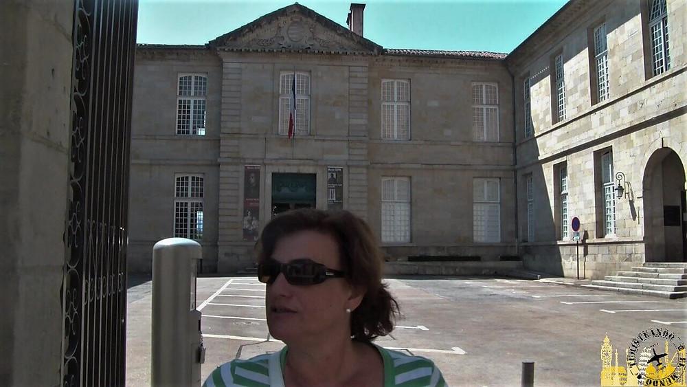 Entrada al Museo Goya. Castres (Francia)