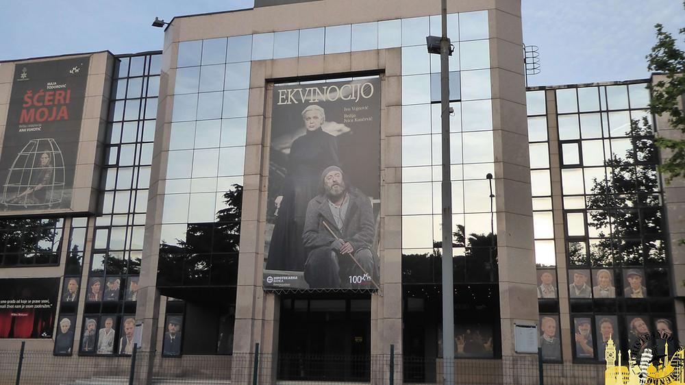 Teatro Nacional Montenegro. Podgorica