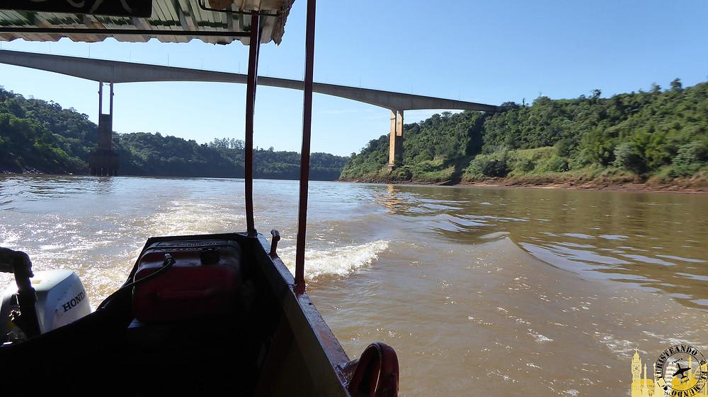 Hito de las tres fronteras, Puerto Iguazú (Argentina)