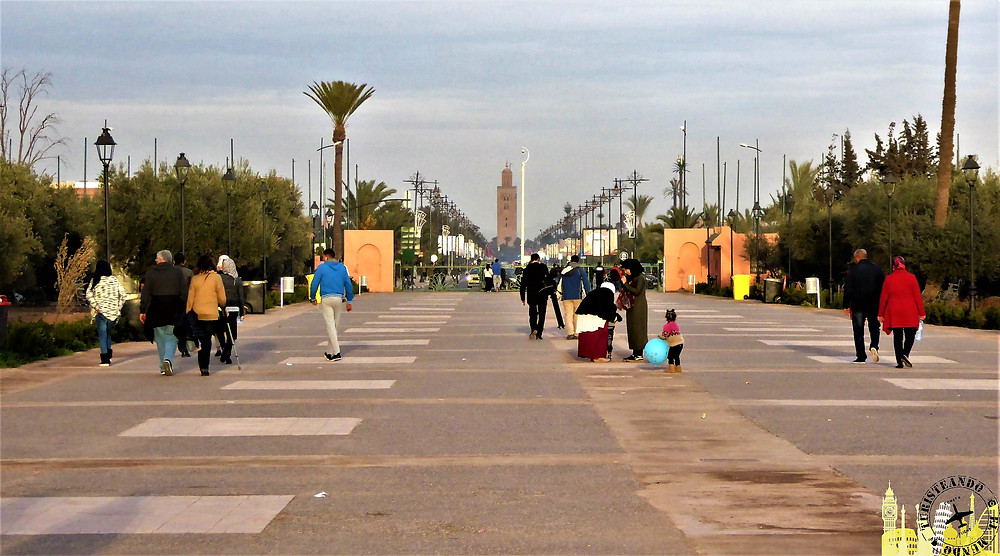 Torre Koutoubia, Marrakech (Marruecos)
