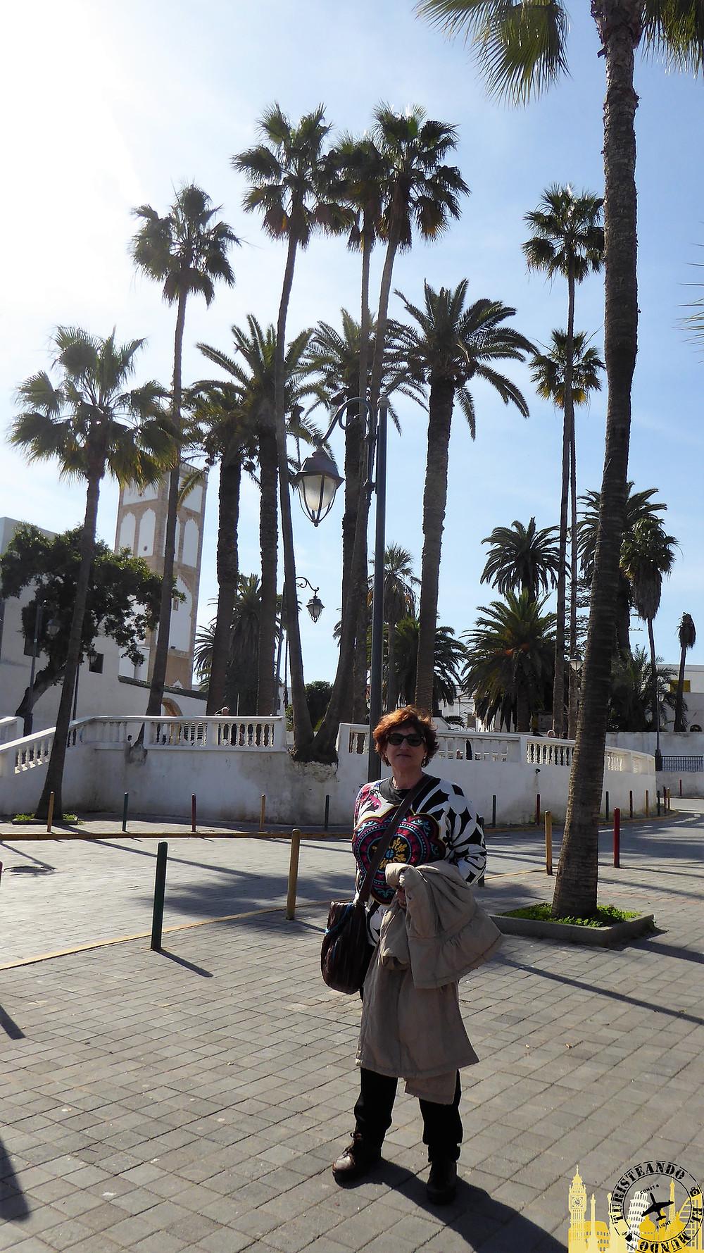 Casablanca (Marruecos). Bulevar de los Almohades