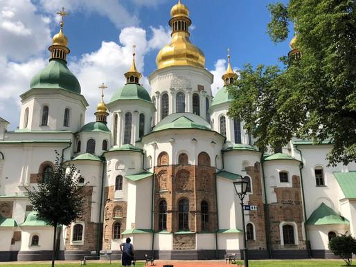 Catedral de Santa Sofía y Monasterio de las Cuevas en Kiev (Unesco). Ucrania