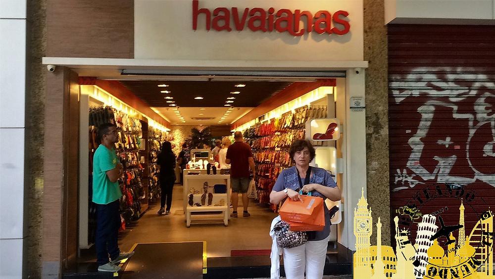 Tienda Havaianas. Ipanema-Río de Janeiro (Brasil)