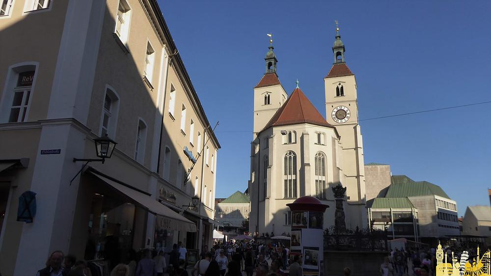 Ratisbona (Alemania). Neupfarrplatz