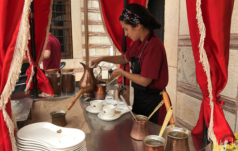 Café turco, Turquía