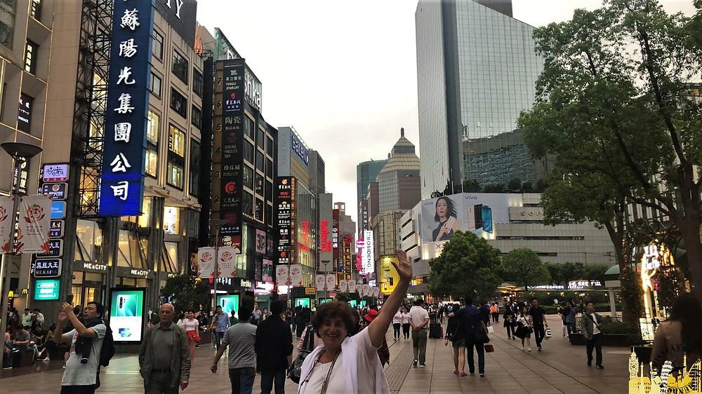 Nanjing Road de Shanghai, China