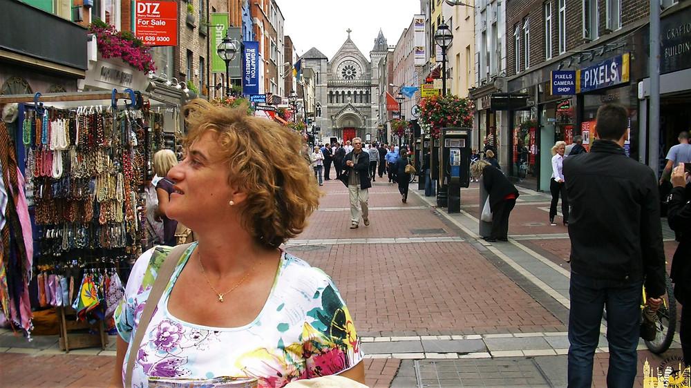 Grafton Street. Dublín (Irlanda)