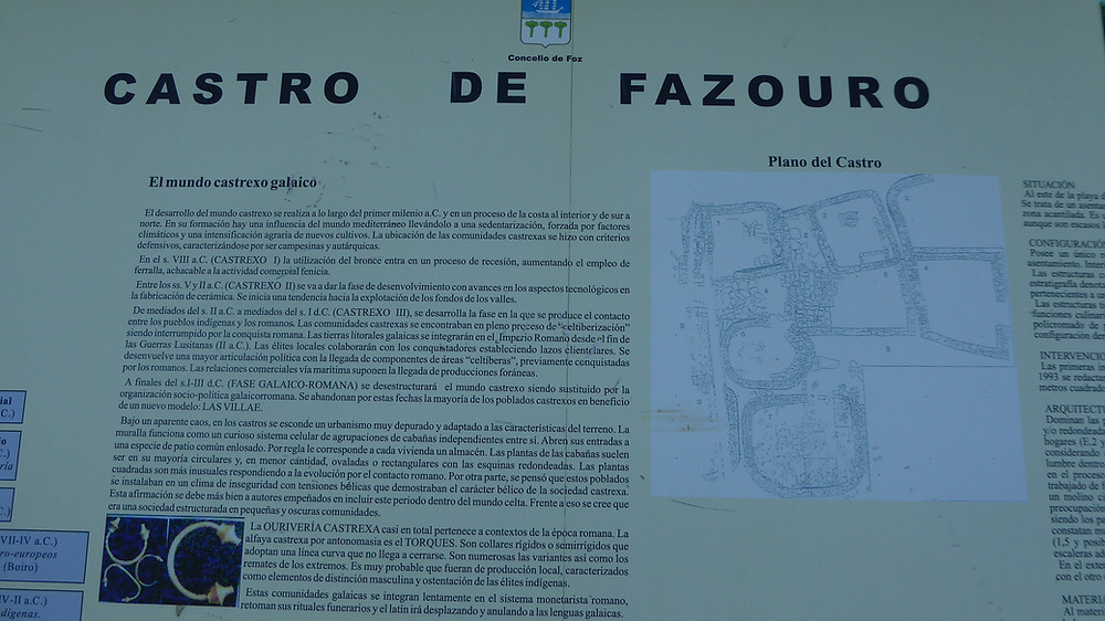 Castro de Fazouro (Lugo - España)