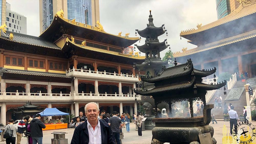 Templo de la serenidad de Shanghai, China