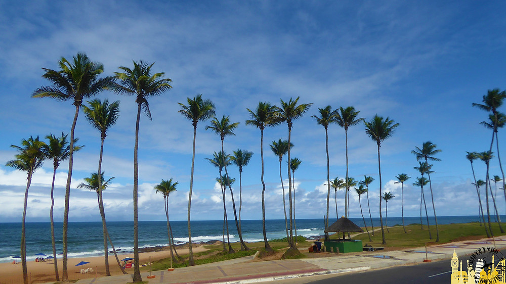 Playa de Pituba. Salvador de Bahía (Brasil)