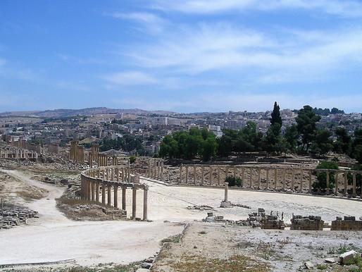 Gerasa o Jerash, la ciudad romana de Jordania ( L.I. Unesco).