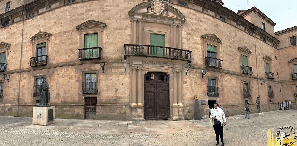 Palacio de los Hurtado de Mendoza en Almazán (Soria). Castilla-León