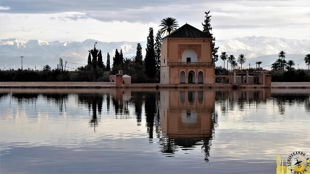 Jardín de la Menara, Marrakech (Marruecos)