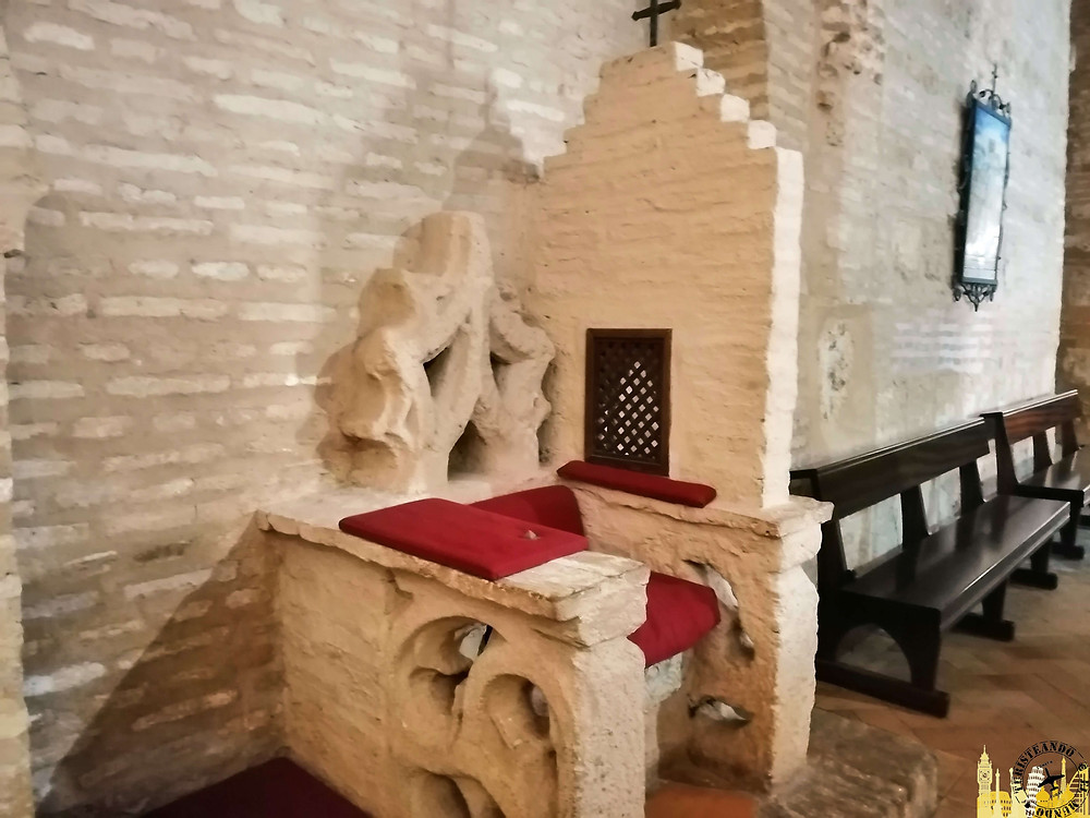 Iglesia Santa Maria de la Granada. Niebla (Huelva). Andalucía