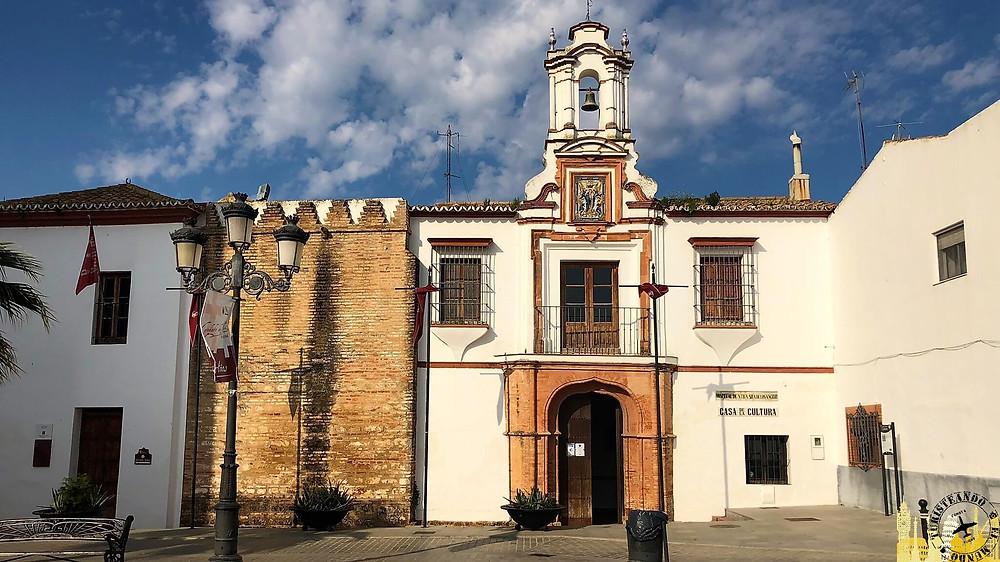 Plaza Santa María. Niebla (Huelva). Andalucía