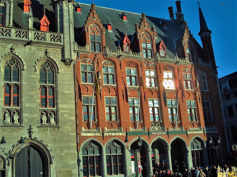 Oficina Correos. Brujas (Bélgica)