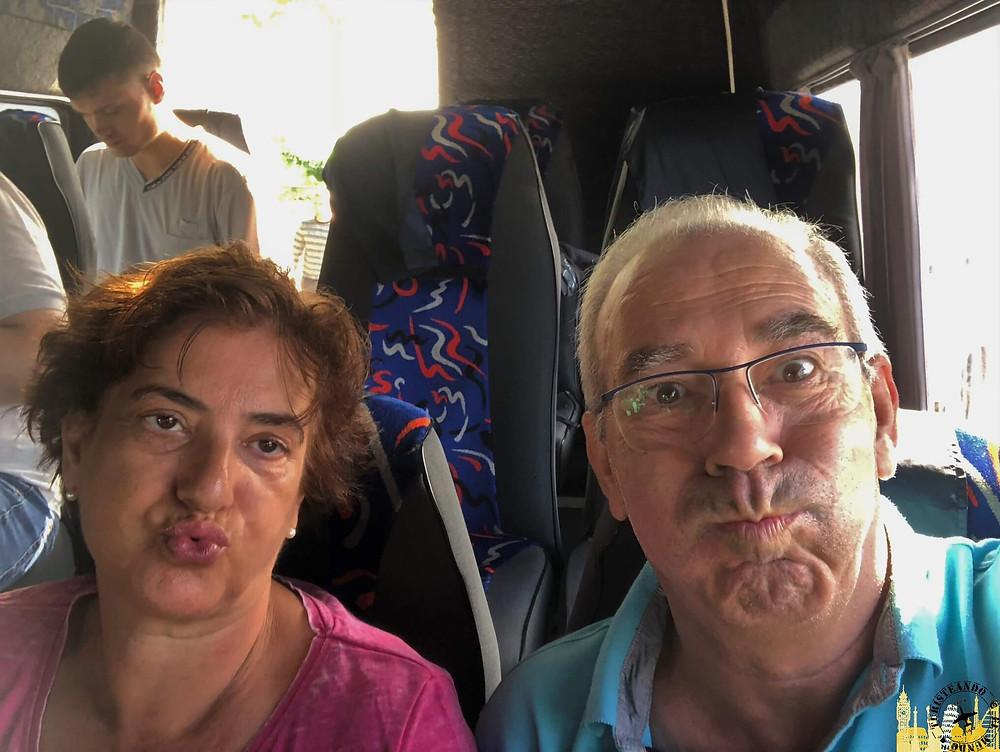 Viaje en bus Kiev-Chernigov