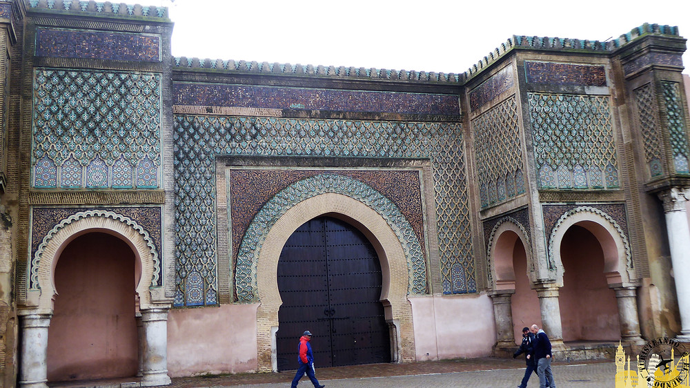 Puerta Bab Mansou, Meknes (Marruecos)