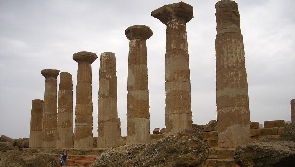 Templo de Hércules. Agrigento (Italia)
