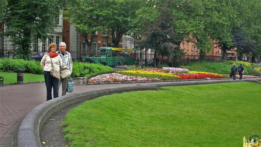 Parque Stephen´s Green. Dublín (Irlanda)