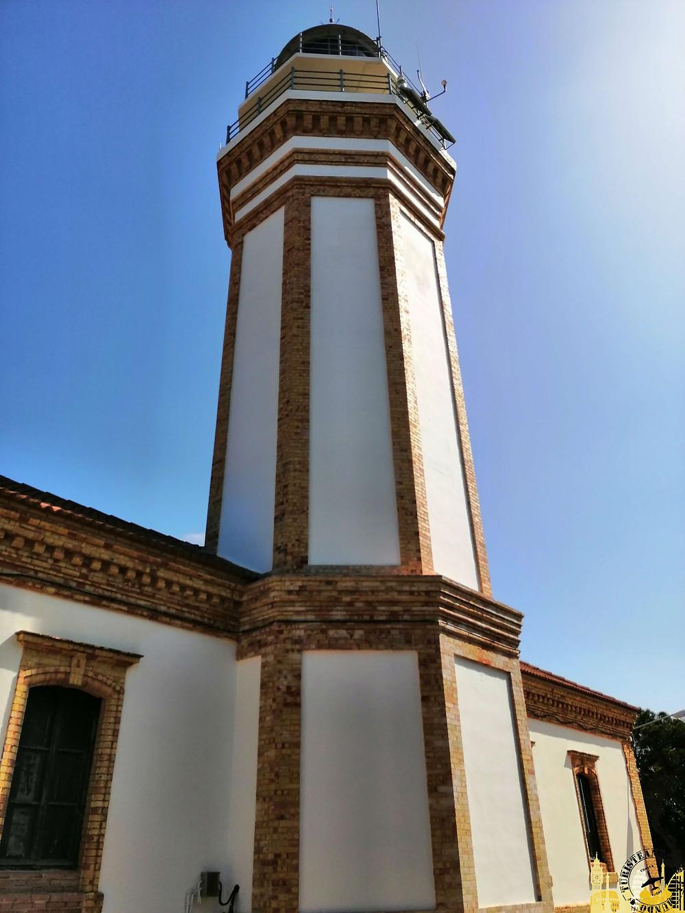 Faro de Mazagón (Huelva). España