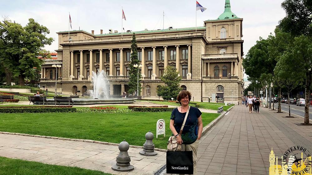 Palacio Nuevo. Belgrado