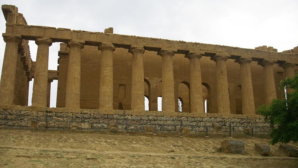 Templo de Castor y Poluz. Agrigento (Italia)