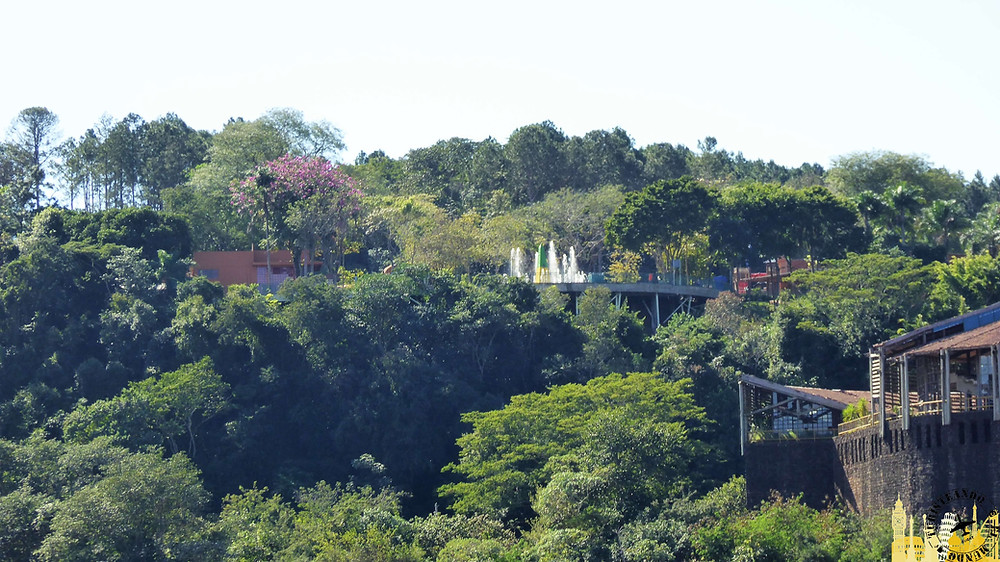 Hito tres fronteras (Brasil). Río Iguazú