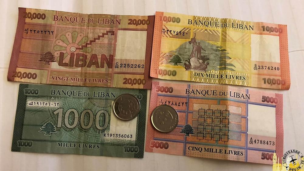 Moneda del Líbano