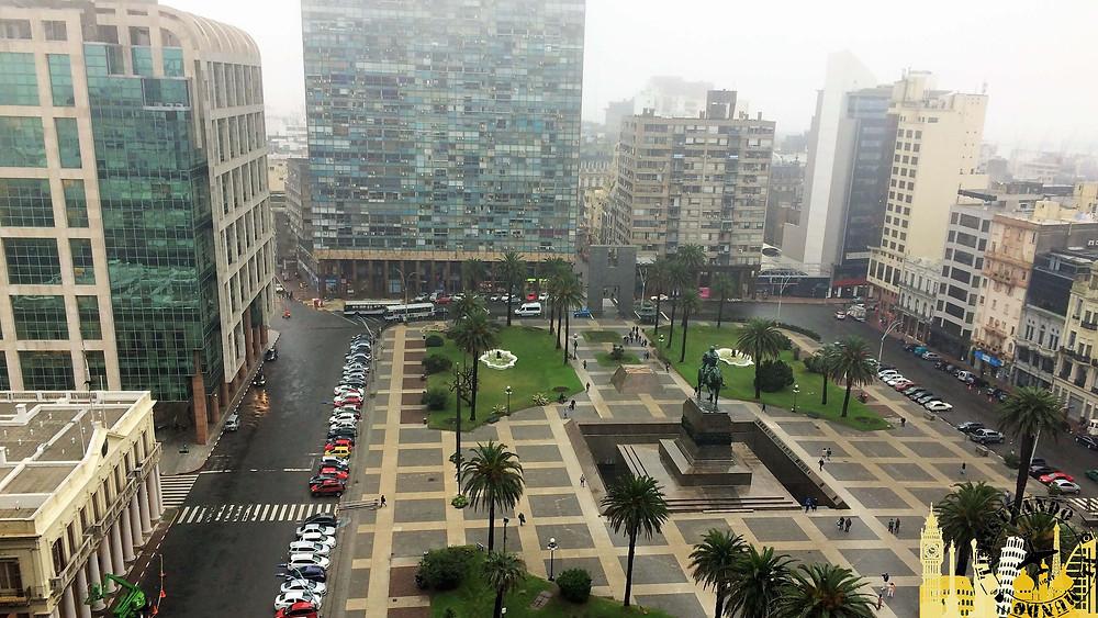 Plaza de la Independencia. Montevideo (Uruguay)