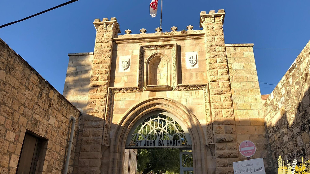 Iglesia de San Juan Bautista. Ein Karem (Israel)