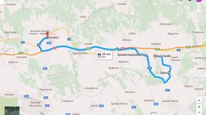 Ruta a Levoca (Eslovaquia)
