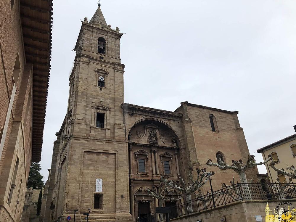 Iglesia de la Asunción en Navarrete, la Rioja