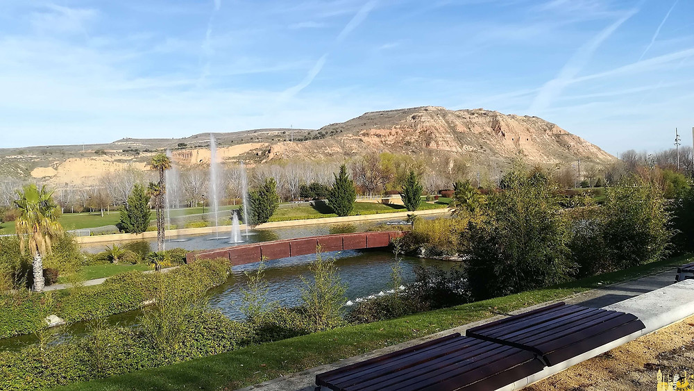 Parque del Ebro en Logroño, La Rioja